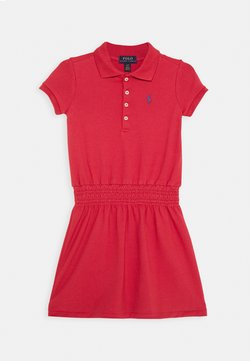 Polo Ralph Lauren - SMOCK DRESS - Freizeitkleid - nantucket red