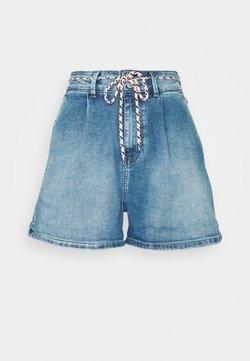 Pepe Jeans - MAMBA SHORT BLUE - Denim shorts - denim