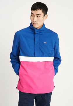 Tommy Jeans - LIGHTWEIGHT POP OVER - Windbreaker - blue
