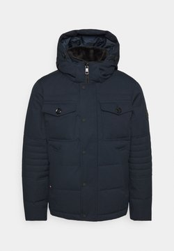 Tommy Hilfiger - REMOVABLE HOODED BOMBER - Winterjacke - blue