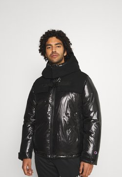Champion Reverse Weave - HOODED JACKET - Winterjas - black