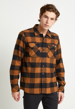 Dickies - SACRAMENTO - Hemd - brown duck
