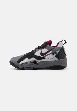 Jordan - ZOOM '92 - Sneaker high - light graphite/bordeaux/neutral grey/black