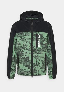 Replay - JACKET - Leichte Jacke - black/green