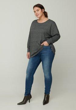 Zizzi - Bluse - dark grey