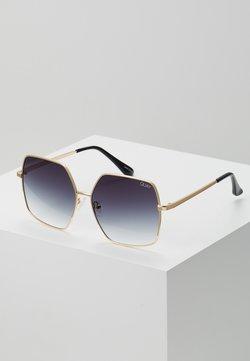 QUAY AUSTRALIA - BACKSTAGE - Gafas de sol - gold-coloured/smoke