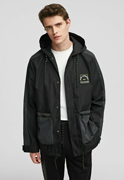 KARL LAGERFELD - Giacca outdoor - 996 black/gray