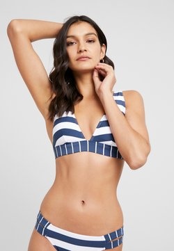 Esprit - NORTH BEACH PADDED BRA - Bikini-Top - dark blue