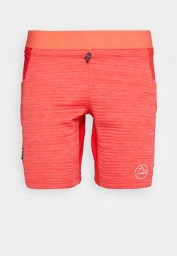La Sportiva - CIRCUIT - kurze Sporthose - hibiscus/flamingo