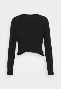 Cotton On Body - CROSS BACK LONG SLEEVE - Camiseta de manga larga - black