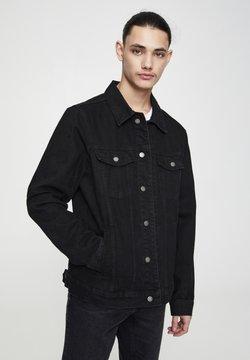 PULL&BEAR - Veste en jean - mottled black
