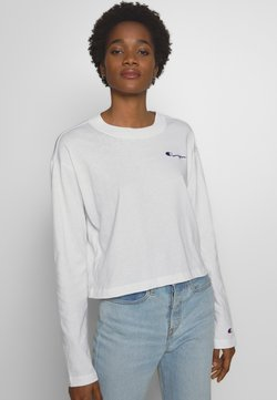 Champion Reverse Weave - CREWNECK LONG SLEEVE  - Longsleeve - white