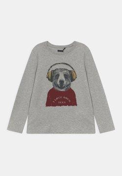 IKKS - TEE - Långärmad tröja - gris chiné moyen