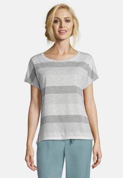 Betty & Co - T-Shirt print - white/gray