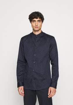 Selected Homme - SLHSLIMFLEX PARK SHIRT CHINA - Koszula - navy blazer