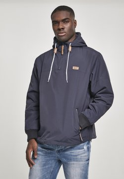 Brandit - HERREN LUKE WINDBREAKER - Windbreaker - dark blue
