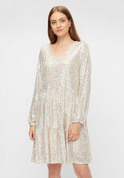 Pieces - Cocktailkleid/festliches Kleid - silver
