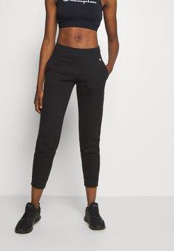 Champion - ELASTIC CUFF PANTS LEGACY - Verryttelyhousut - black