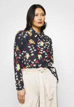 Seidensticker - WASHER FASHION - Button-down blouse - navy