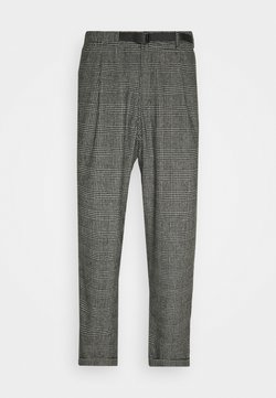 Gramicci - BLEND TUCK PANTS LOOSE - Chinot - dark grey