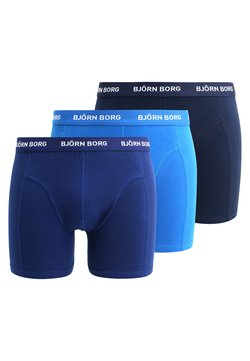 Björn Borg - SHORTS SOLIDS 3 PACK - Shorty - skydiver