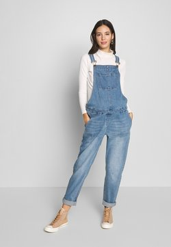 Forever Fit - DUNGAREE - Peto - mid blue wash