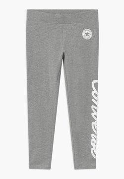 Converse - SIGNATURE CHUCK - Legging - grey heather