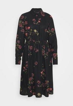 Vero Moda - VMGALLIE DRESS - Blusenkleid - black
