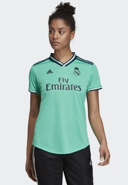 adidas Performance - REAL MADRID THIRD JERSEY - Vereinsmannschaften - green