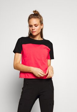 The North Face - WOMEN'S NORTH DOME - T-Shirt print - cayenne red/black