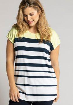 Ulla Popken - T-Shirt print - licht limoengeel