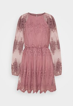 Nly by Nelly - FLORAL DRESS - Robe de soirée - dusty pink
