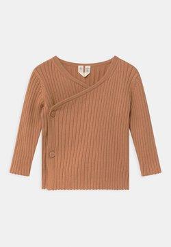 ARKET - CARDIGAN - Vest - beige/brown