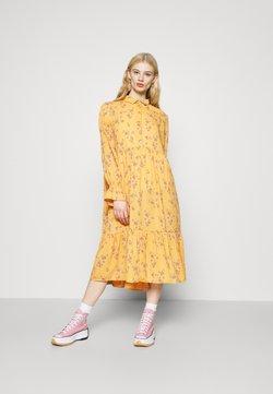 Monki - PARLY DRESS - Skjortekjole - yellow medium