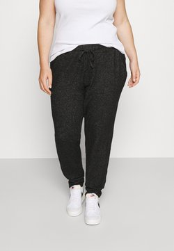 CAPSULE by Simply Be - SOFT TOUCH JOGGER - Jogginghose - charcoal marl