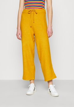Monki - MAJA TROUSERS - Jogginghose - yellow