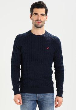 Pier One - Stickad tröja - dark blue