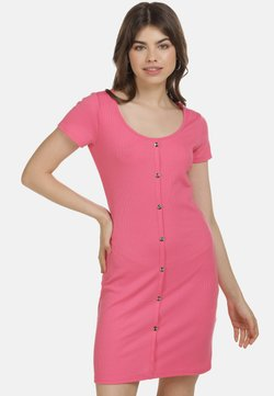 myMo - Vestido de tubo - neon pink