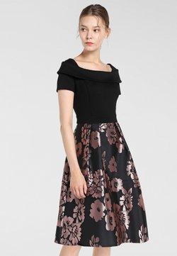 Apart - Cocktailkleid/festliches Kleid - schwarz-mauve