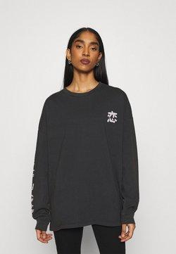 BDG Urban Outfitters - KOI FISH SKATE - Langarmshirt - washed black