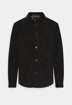 PS Paul Smith - MENS JACKET - Leather jacket - black