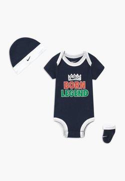 Nike Sportswear - BORN LEGEND UNISEX SET - Geboortegeschenk - midnight navy