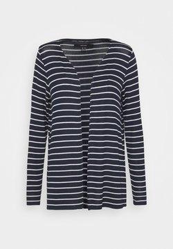 Vero Moda - VMBRIANNA CARDIGAN - Strickjacke - navy blazer/snow white