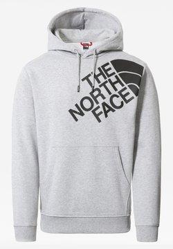 The North Face - M SHOULDER BOX HD - Sweater - tnflightgreyhthr/tnfblack