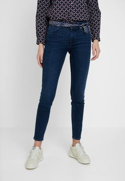 Marc O'Polo - TROUSERS MID WAIST - Jeans slim fit - deep ink cozy denim