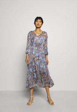 Second Female - ADELINA DRESS - Vestito lungo - brunnera blue