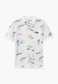 Lacoste - POLO COLLECTION - Poloshirt - white/multico