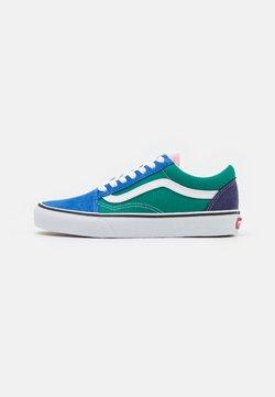 Vans - OLD SKOOL UNISEX - Sneakersy niskie - multicolor/true white