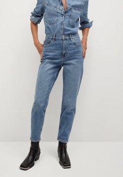 Mango - NEWMOM - Straight leg jeans - bleu moyen