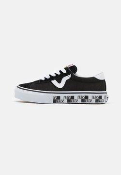Vans - SPORT UNISEX - Sneakers basse - black/true white